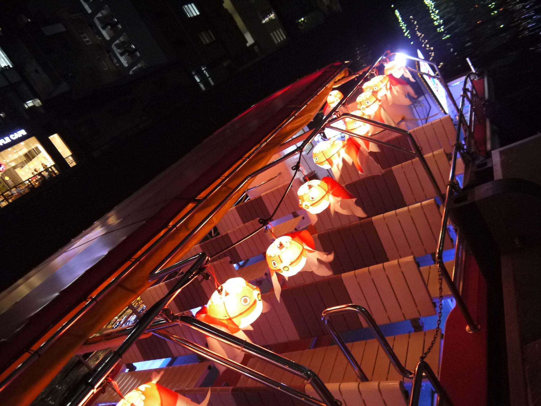 The Akihabara embarkation three days-limited enjoying the cool breeze! Night Kanda River and Ochanomizu Valley Cruise