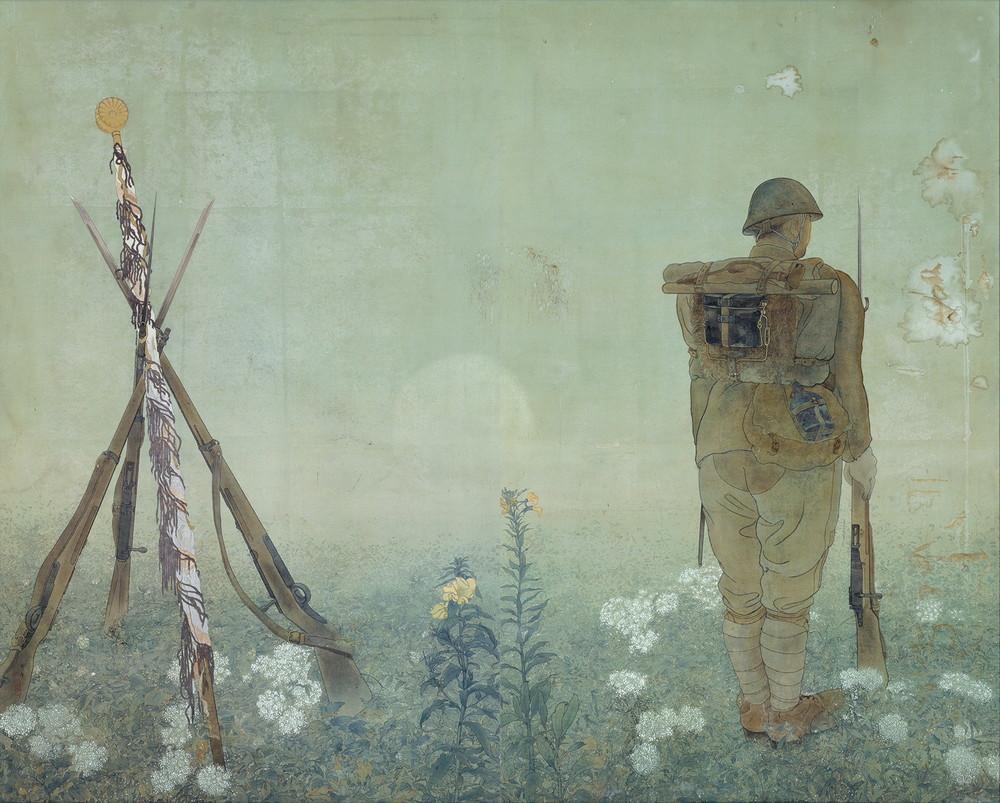 小早川秋聲 御旗 1936