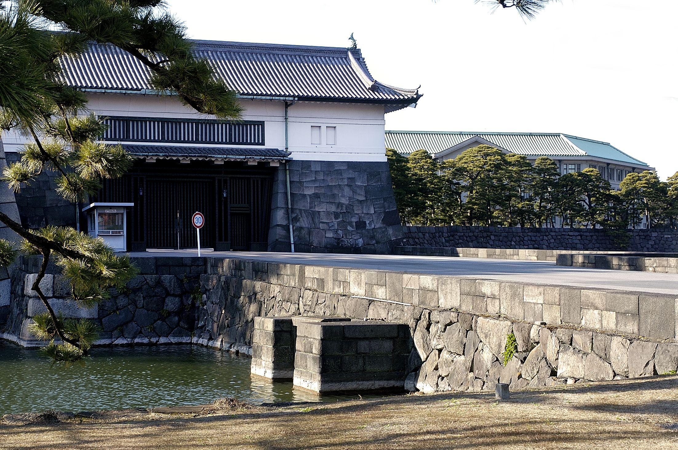 Sakashita-mon Gate bridge