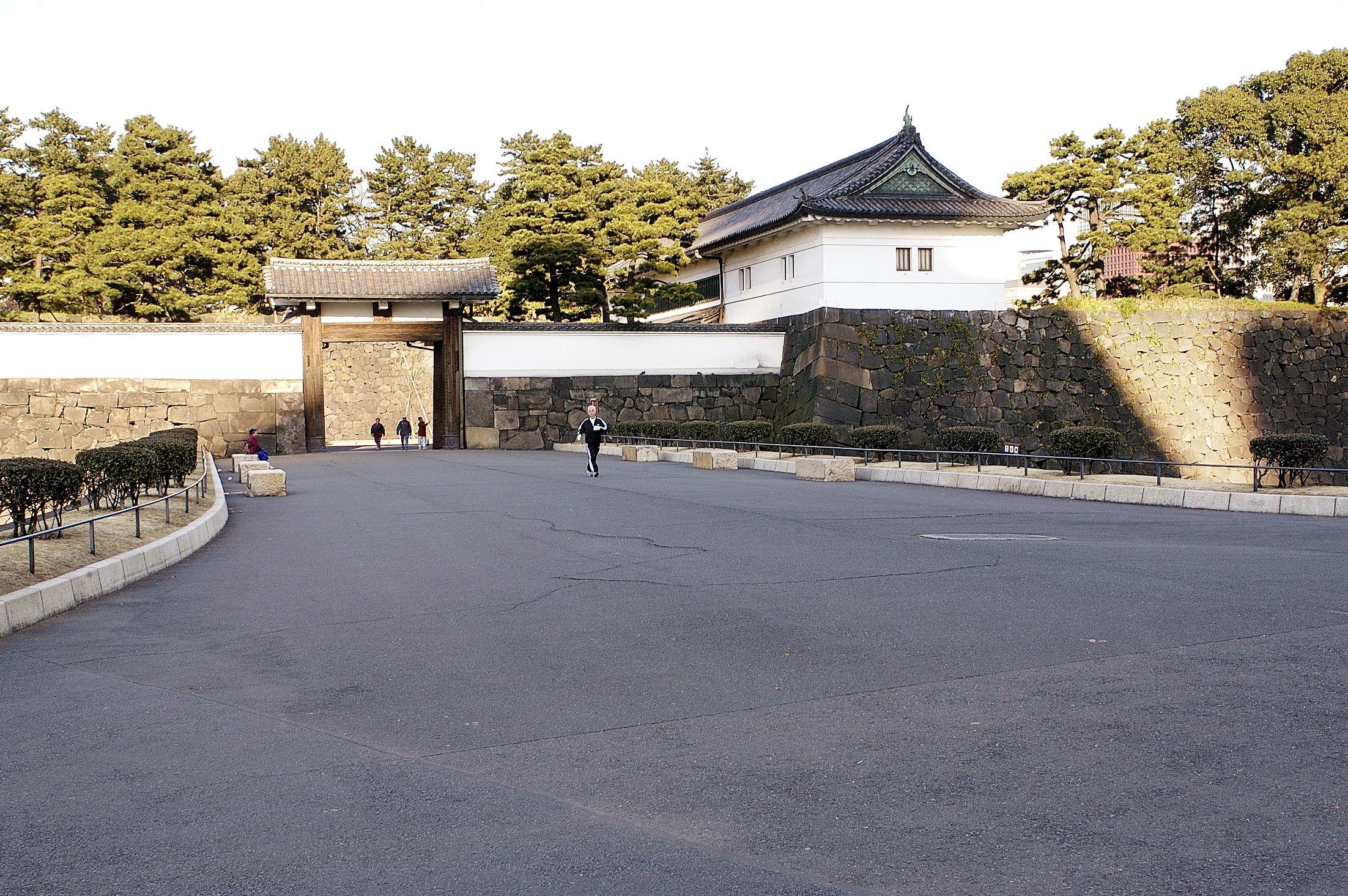 Sakurada-mon Gate bridge
