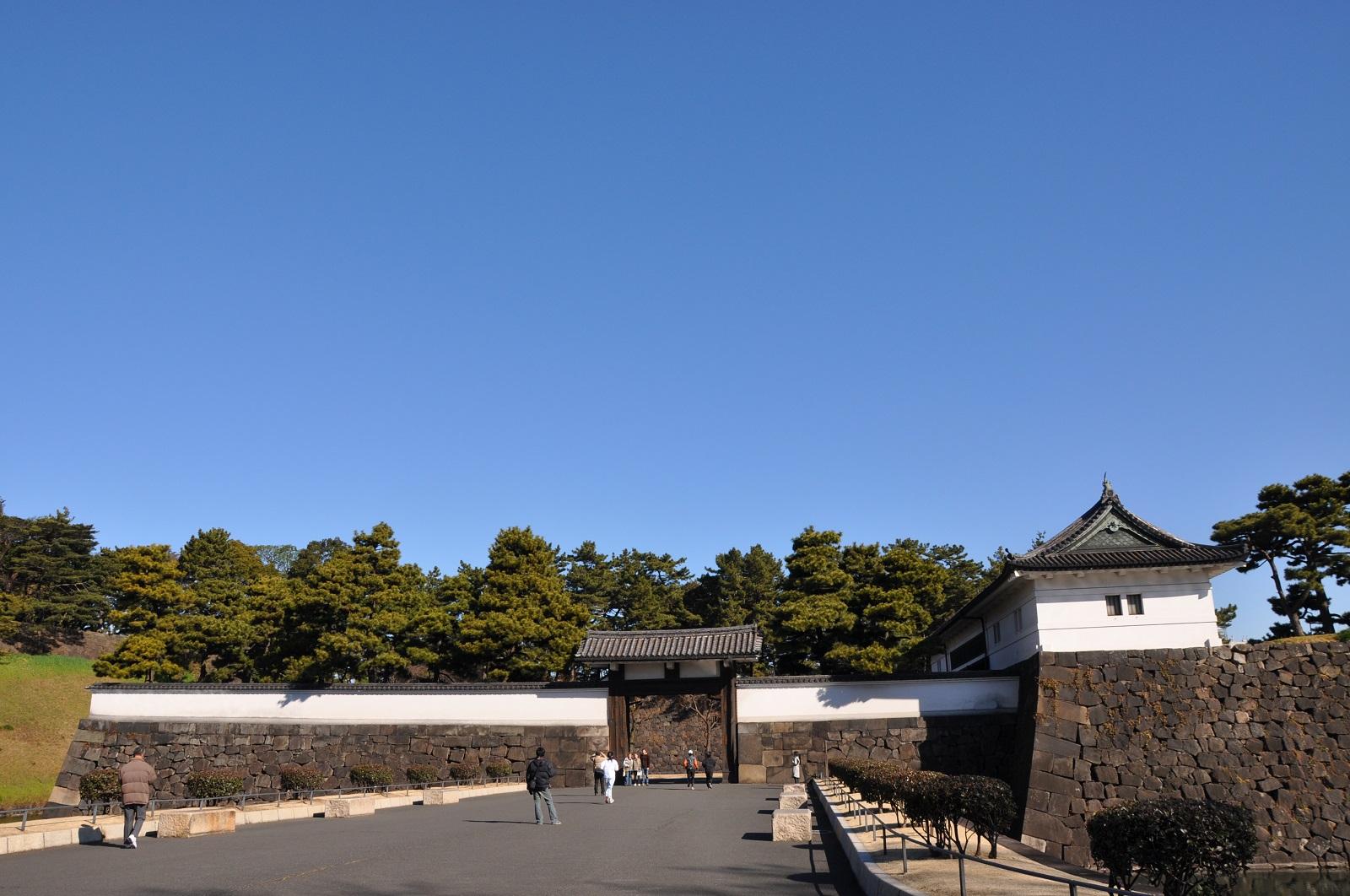 Outside Sakurada-mon Gate