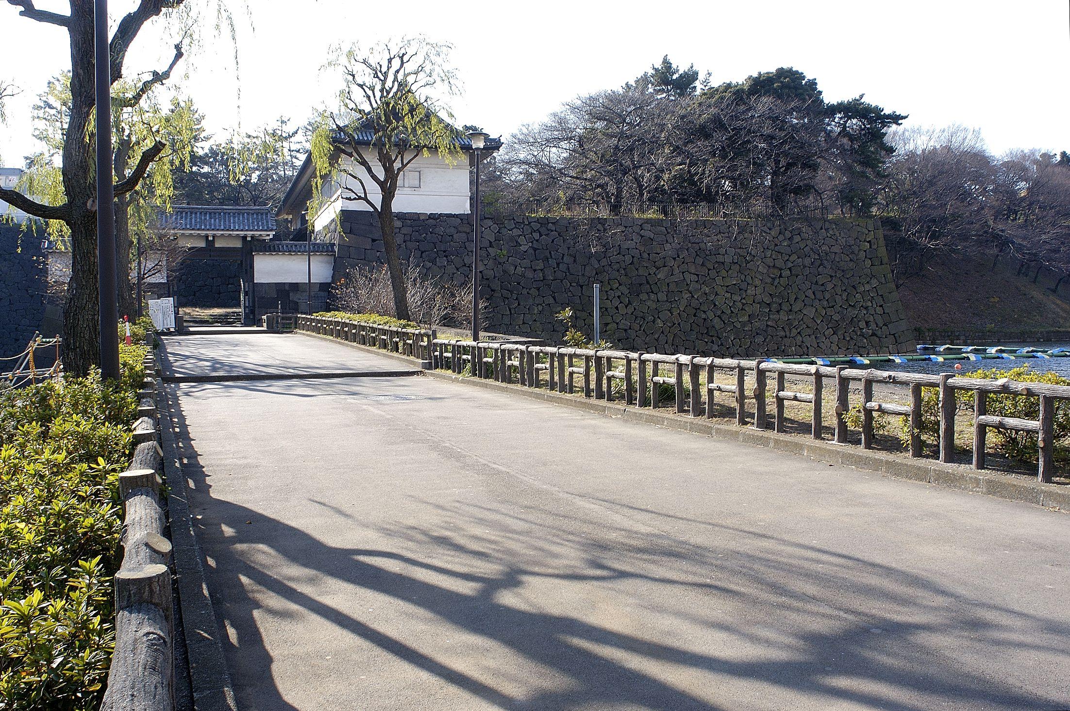 The Shimizu gate bridge