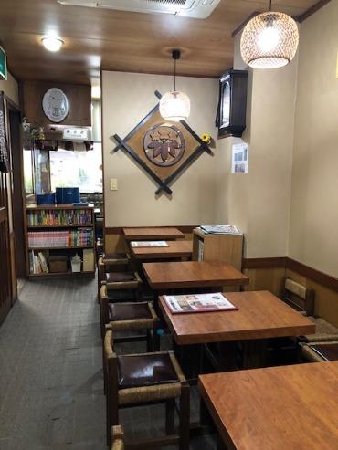 Large roasting tea shop