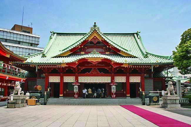 Kanda Shinto shrine (Kanda Myojin)