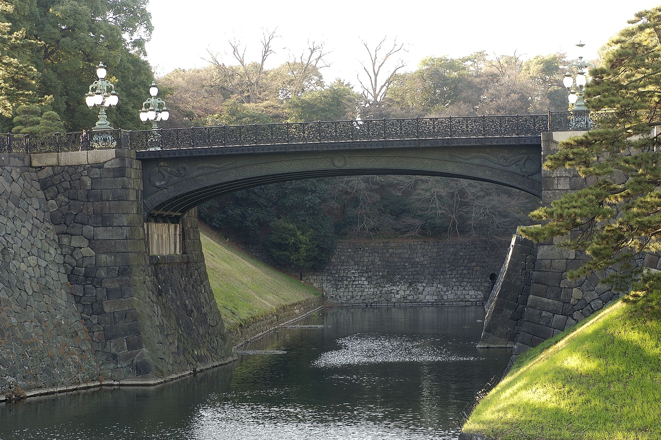 Niju-bashi Bridge