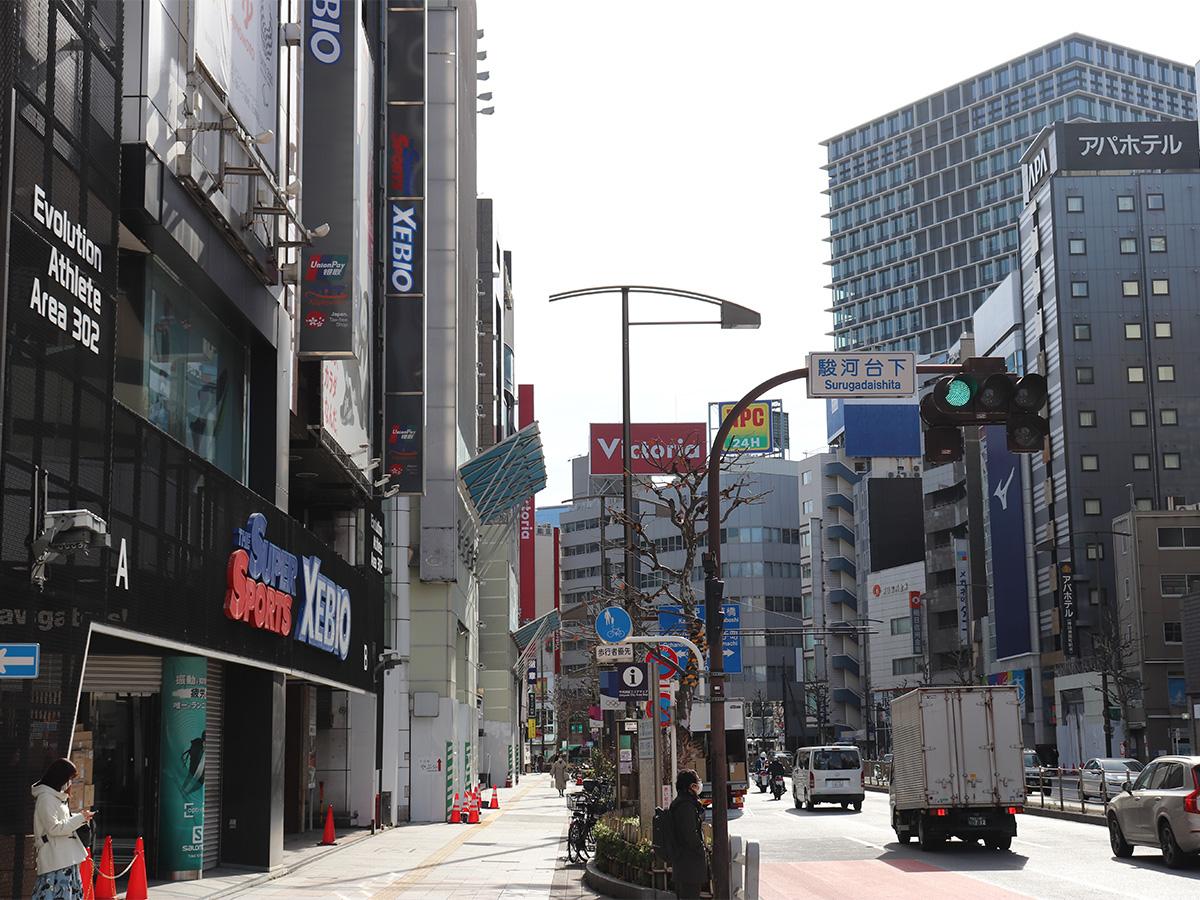 Kandaogawamachi sports shop street